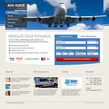 Avio Karte.Avio Karte Online Web Development By Igor Vuckovic